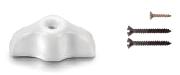 Manette look rétro porcelaine blanche pour interrupteur porcelaine FONTINI GARBY
