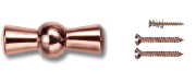 Manette cuivre pour interrupteur porcelaine FONTINI GARBY