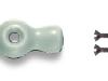 Manette porcelaine vert amande pour interrupteur porcelaine FONTINI GARBY