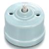 Mécanisme interrupteur porcelaine bleu pastel Fontini Garby