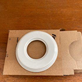 plaque porcelaine blanche
